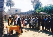 The First Bishop of Madagascar, Mr. Nektarios Kellis.